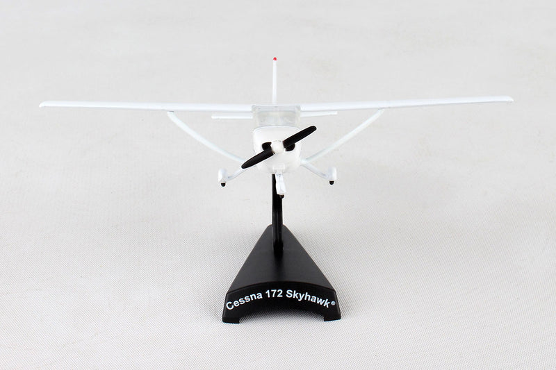 Cessna 172 Skyhawk 1:87 Scale Model By Daron Postage Stamp Front View
