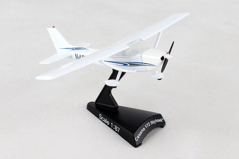 Cessna 172 Skyhawk 1:87 Scale Model By Daron Postage Stamp