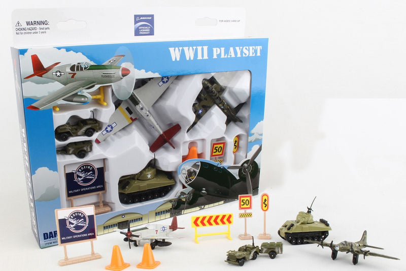 Boeing WWII Playset By Daron