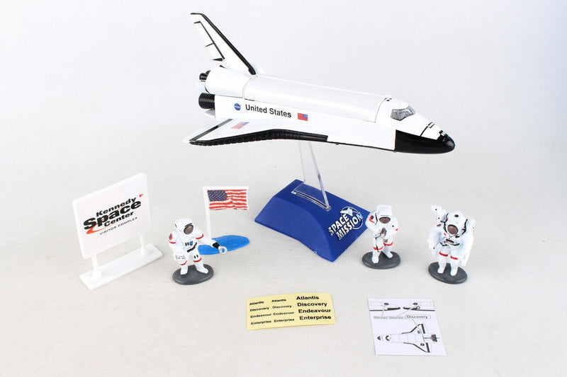 Space Shuttle 7 Piece Playset By Daron
