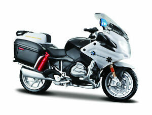 BMW R1200RT California Highway Patrol (Black / White) 1:18 Scale Diecast Motorcycle