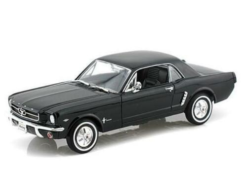 Ford Mustang 1964 1/2 (Black) 1:24-27 Scale Diecast Car By Welly