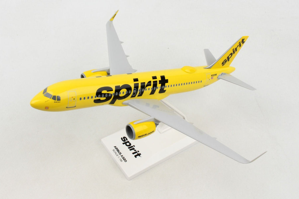 Airbus A320neo Spirit Airlines 1:150 Scale Model By Daron