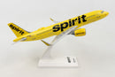 Airbus A320neo Spirit Airlines 1:150 Scale Model By Daron Right Side View