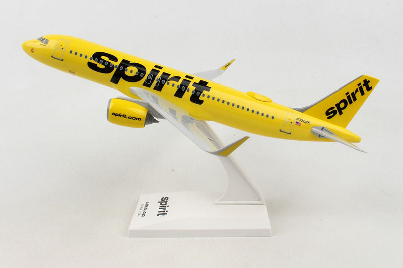 Airbus A320neo Spirit Airlines 1:150 Scale Model By Daron Left Side View