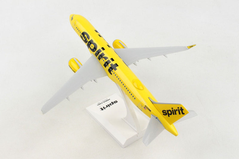 Airbus A320neo Spirit Airlines 1:150 Scale Model By Daron Left Rear View