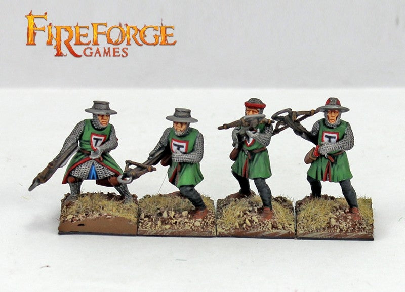 Teutonic Infantry, 28mm Model Figures By Fireforge Games