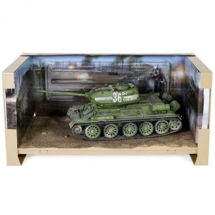 T-34-85 Medium Tank, Soviet 55th Guards Tank Brigade 1945, 1/32 Scale Model By Forces Of Valor