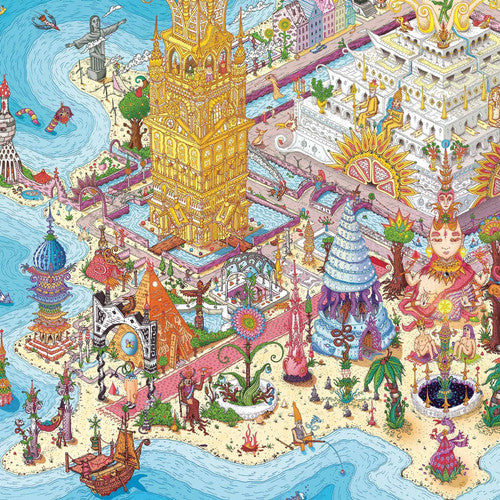 Land Of Rutopia 1000 Piece Puzzle
