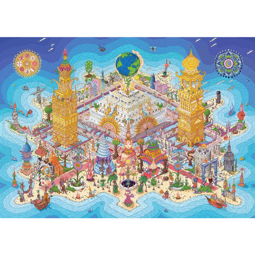 Land Of Rutopia 1000 Piece Puzzle Art Work