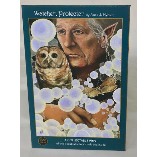 Watcher, Protector 500 Piece Puzzle By Art & Fable Puzzle Company
