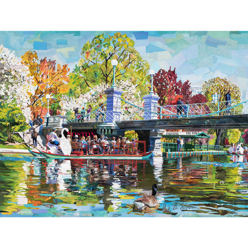 Day In The Garden 1000 Piece Puzzle