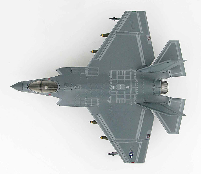 "Lockheed Martin F-35C Lightning II VFA-101 ""Grim Reapers"" CAG Bird 2013, 1:72 Scale Diecast Model"