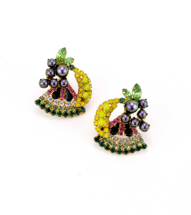 Petite Fruit Salad Earrings