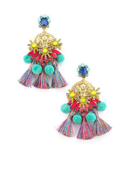 Zwena Earrings