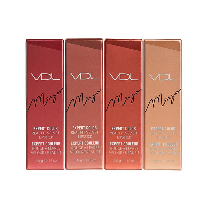 Morgan Alison Stewart x VDL Expert Color Real Fit Velvet Lipstick - 211 Lucky Amber