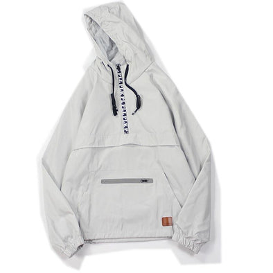 """Active Zipper"" Windbreaker -Shop the latest in Street wear 