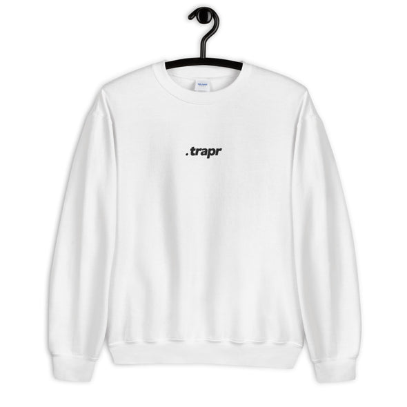 """Trapr Classic Black Font"" Sweatshirt 