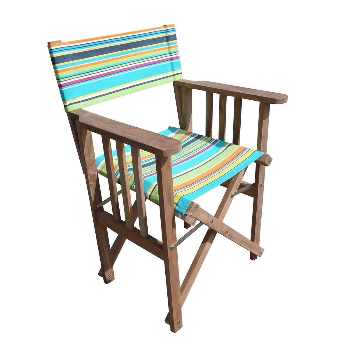 Athletics Striped Directors Chair - Deckchair Stripes
