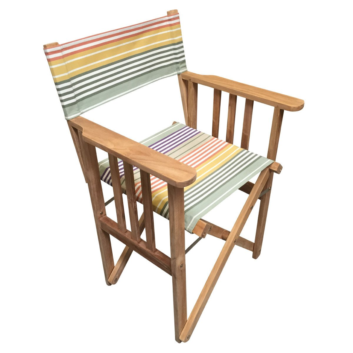 Boules Striped Directors Chair - Deckchair Stripes