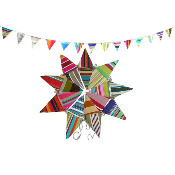 Multi Stripe Bunting