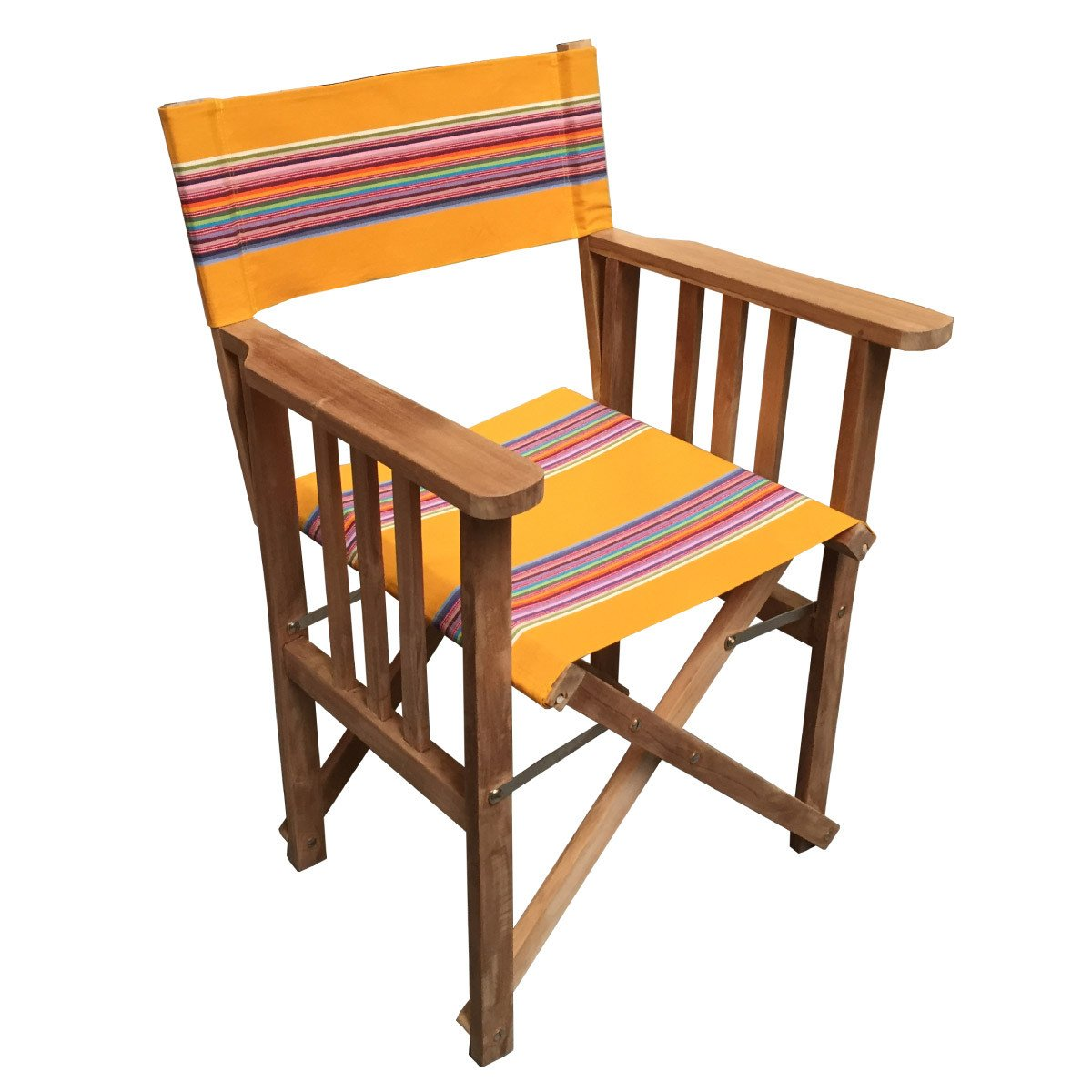 Butterfly Striped Directors Chair - Deckchair Stripes