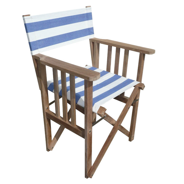 Soccer Striped Directors Chair