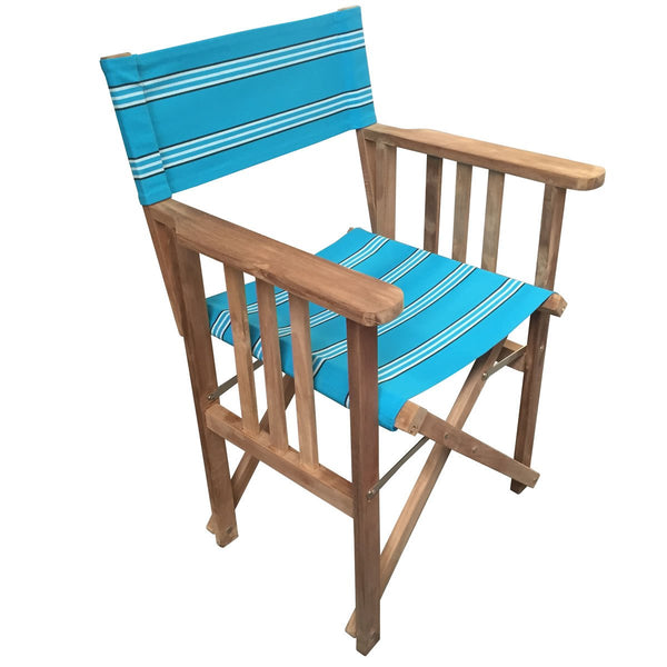 Fives Striped Directors Chair - Deckchair Stripes