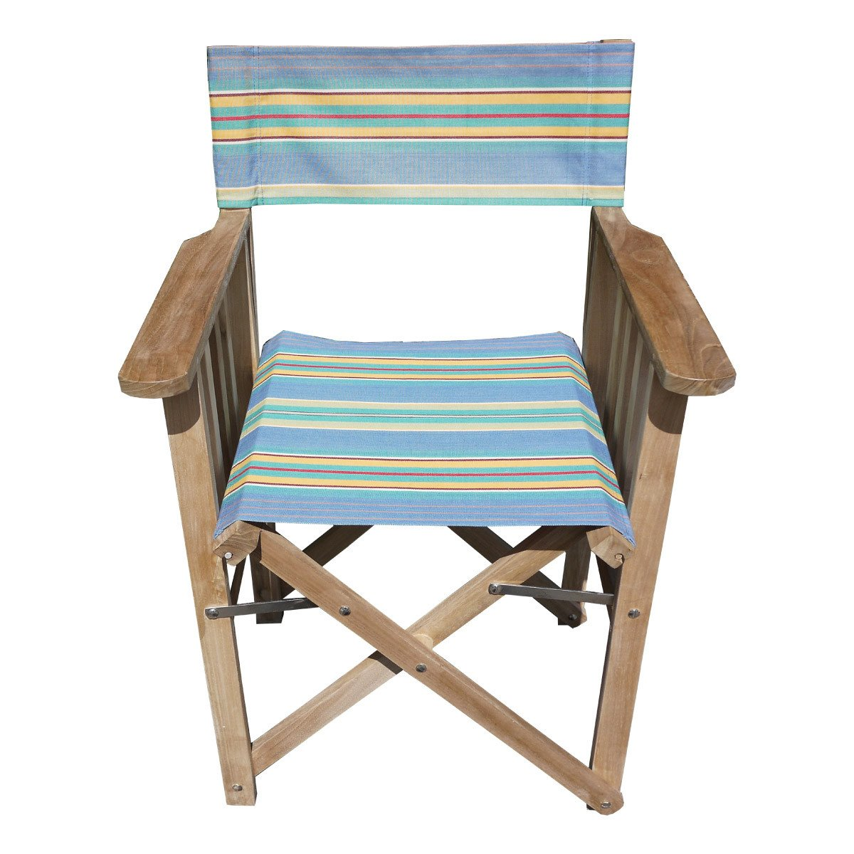 Hula Hoop Striped Directors Chair