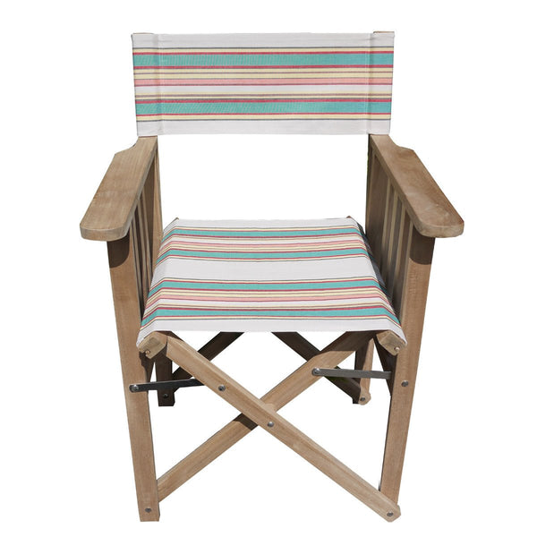 Lido Striped Directors Chair