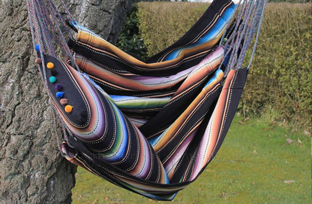 Hanging Chair from Deckchair Stripes