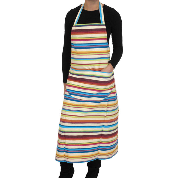 Basketball Striped Cotton Apron