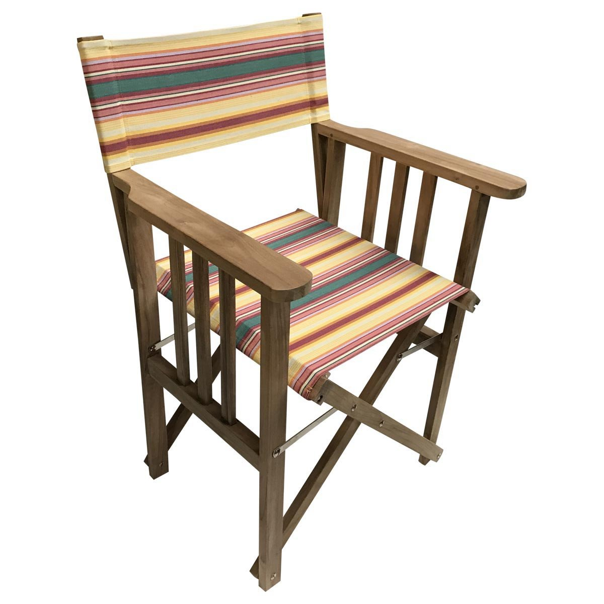 Waltzing Striped Directors Chair