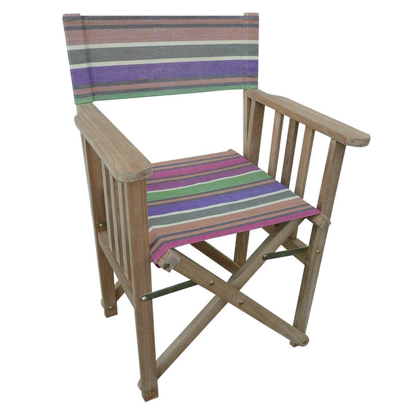 Yoga Striped Directors Chair