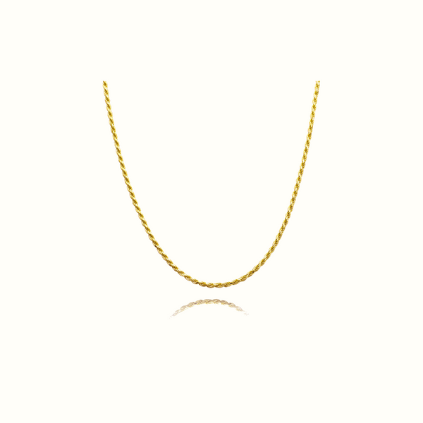 Carol Twist Chain Necklace