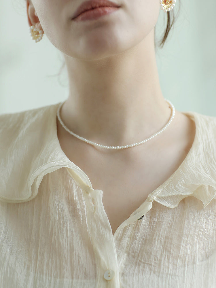 Hana's Pearl Necklace