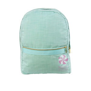 Mermaid Chambray Backpack