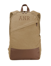 Load image into Gallery viewer, Vintage Monogram Canvas BackPack