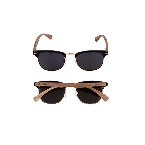 85d16c4fdda1 WOODIES Walnut Wood Sunglasses with Polarized Lens