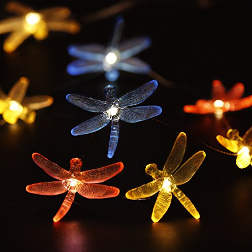Impress Life Decorations String Lights Dragonfly Plus Fairy Lights