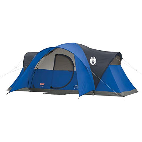 8 Person Coleman Camping Tent | Montana Tent with Easy Setup for Outdoors - [Do_More_Outdoor]