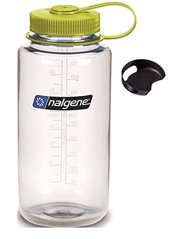 Nalgene Tritan 32oz Wide Mouth BPA-Free Water Bottle with Removable SplashGuard - [Do_More_Outdoor]