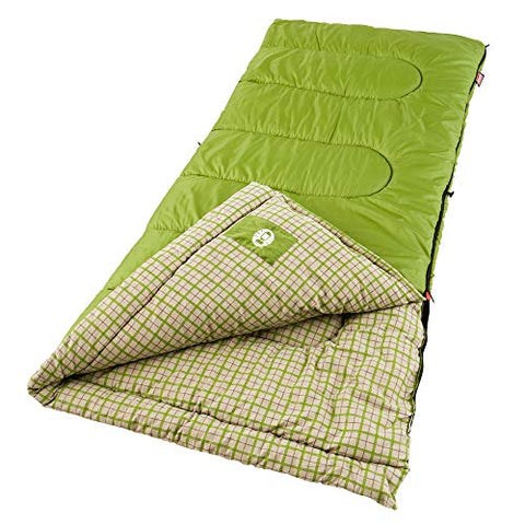 Coleman Green Valley Cool Weather Adult Sleeping Bag - [Do_More_Outdoor]
