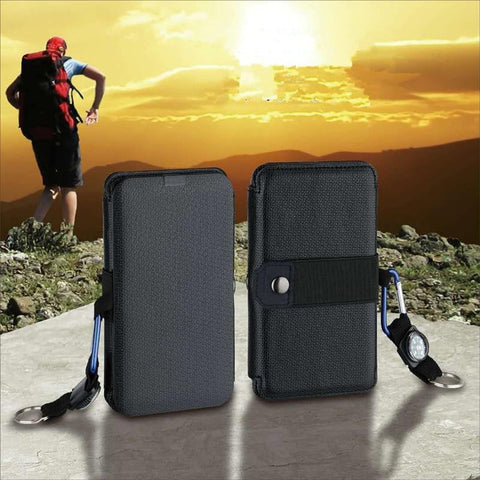 Portable Solar Power Charger - [Do_More_Outdoor]