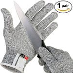 Stainless Steel Wire Metal Mesh Anti-cut Gloves - [Do_More_Outdoor]