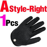 1Pc Fishing Catching Glove with Magnet Release - [Do_More_Outdoor]