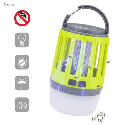 2 in 1 USB Rechargeable LED Mosquito Zapper - [Do_More_Outdoor]