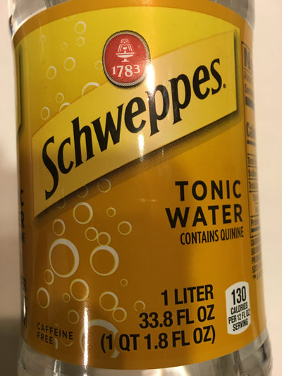 Schweppes Tonic Water-contains Quinine
