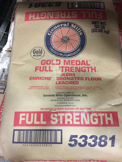 Gold Medal Bread Flour ( 50lbs) - Full Strength