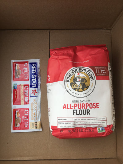 King Arthur All Purpose Flour and Red Star Active Dry Yeast, Free Shipping